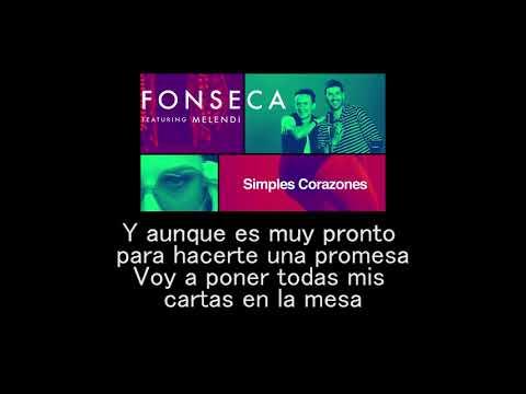 simples corazones Fonseca ft Melendi letra