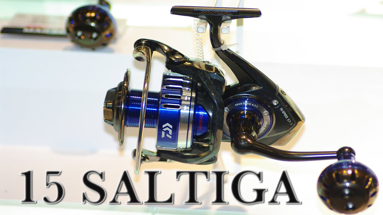 daiwa reel 15 saltiga 5000h from japan