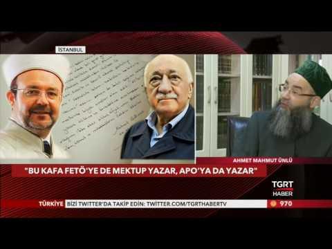 Diyanet İşleri Başkanı Mehmet Görmez, Diyalog, Fetö, Mektup, Cübbeli, TGRT