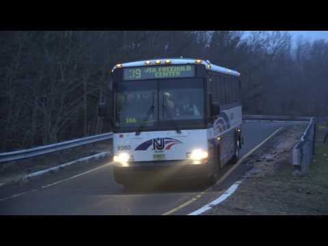 NJ TRANSIT MCI D4500 DIESEL BUSES 8228 8260 AND 8208 JAKE
