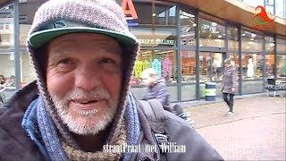 Hardenberg: straatPraat met William - kennismaking met dakloze Hardenberger.