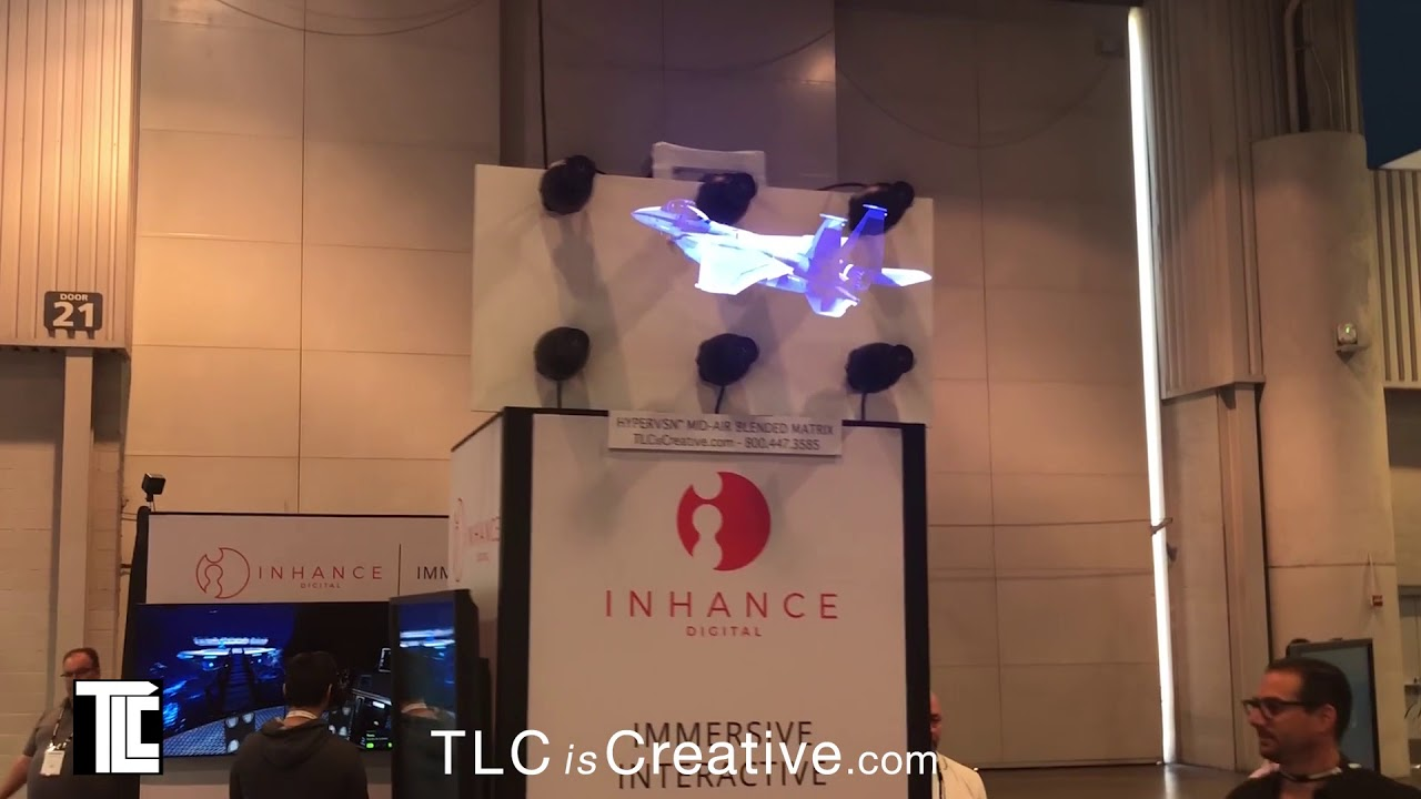 INFOCOMM 2018 Hypervsn Video Walls 3D Holographic Displays