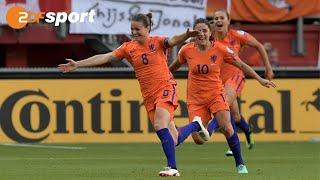Niederlande - Dänemark 4:2 (2:2)| Finale Frauen-EM 2017 - ZDF