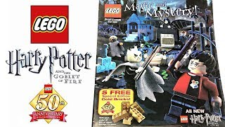 LEGO Fall 2005 Catalog - Harry Potter and the Goblet of Fire sets! 😱