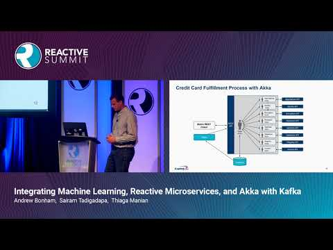 Integrating Machine Learning, Reactive Microservices, and Akka with Kafka