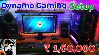 Dynamo Gaming PC Setup - Mouse, Keyboard, Monitor, Processor, Internet Speed 😳 ₹1,60,000 😳