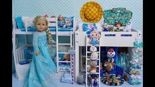 American Girl Doll Disney Frozen Elsa Closet Tour!