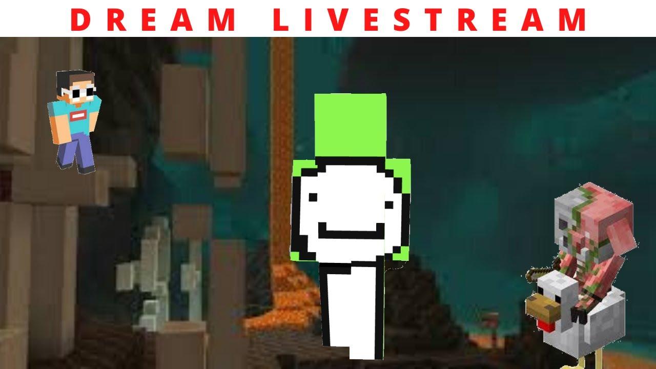 Dream Minecraft Livestream [FULL] | 1.16 survival (4th livestream)