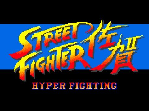 STREET FIGHTER 佐賀(サガット) - スーパーストリートファイターII X for 佐賀県