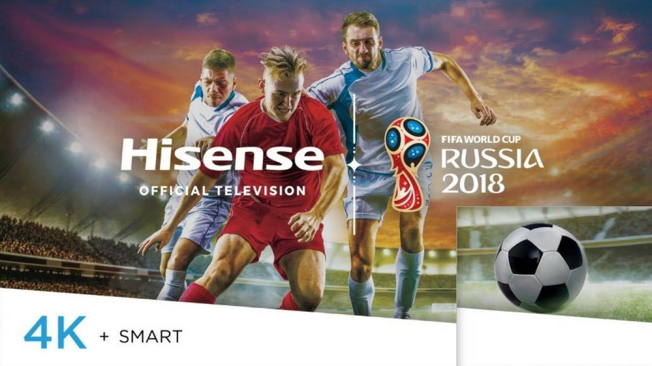 "The Source] Hisense H7608 55"" 4K LED Smart TV - Alexa"