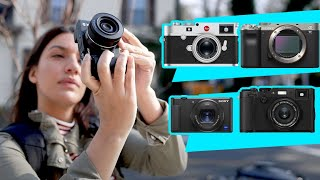 Compact Travel Cameras Review: Sony a7C, ZV-1, Fujifilm X100F & Leica M9-P