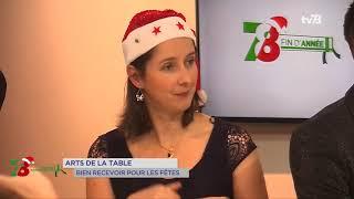 Yvelines | Art de la table : bien recevoir pour les fêtes