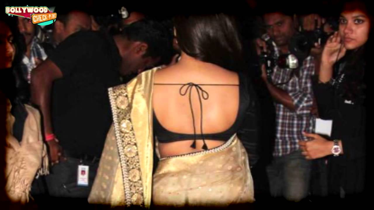 Image result for vidya balan saree backless