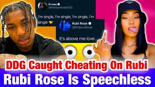 DDG SAYS HE's SINGLE AFTER RUBI ROSE CLAIMS HE CHEATED ON HER AGAIN😳