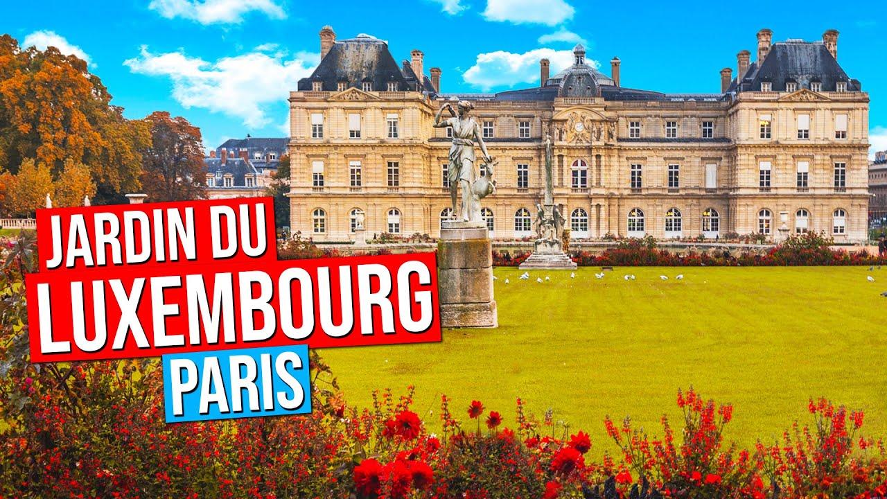 Jardin Du Luxembourg Luxembourg Garden Paris France Automne