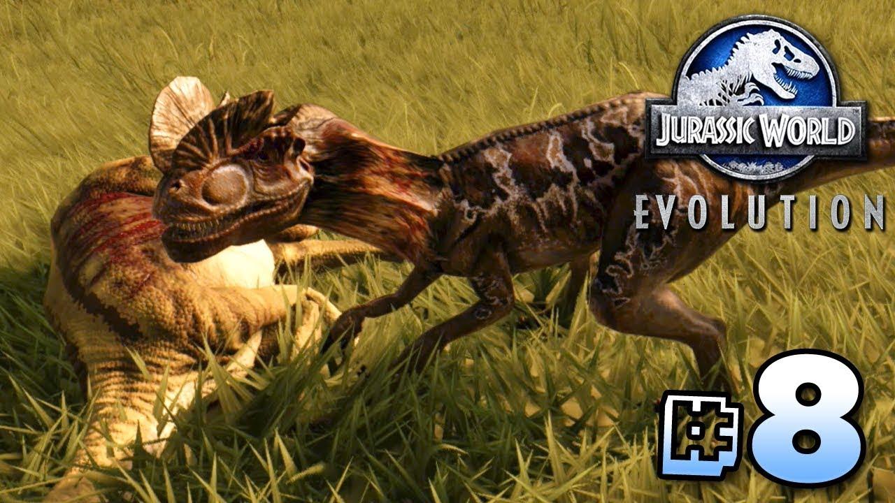Opportunistic Hunters Jurassic World Evolution Ep8 Youtube