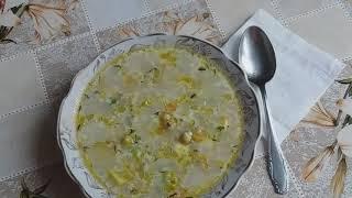 видео Щи из свежей капусты с зеленым горошком
