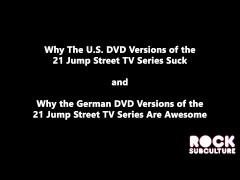 Soundtrack Matters: Comparing the U.S. and German DVD Sets of the 21 Jump Street TV Series