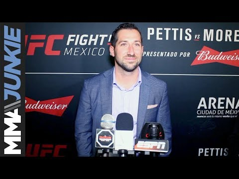 UFC VP happy with Mexico performances, says new Latin American countries planned for 2018