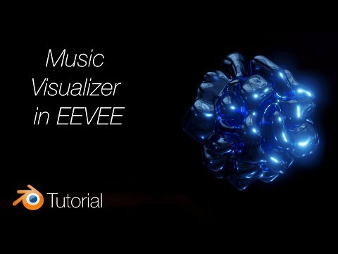 [2.8] Blender Tutorial: Music Visualizer in EEVEE thumbnail