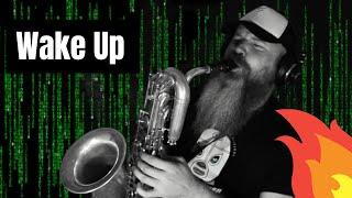 ¨Wake up¨ Rage Against the Machine (Fragment, Baritone Saxophone cover) Matrix OST