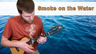 Smoke on the Water || Ukulele Tutorial - rock and roll music ukulele chords