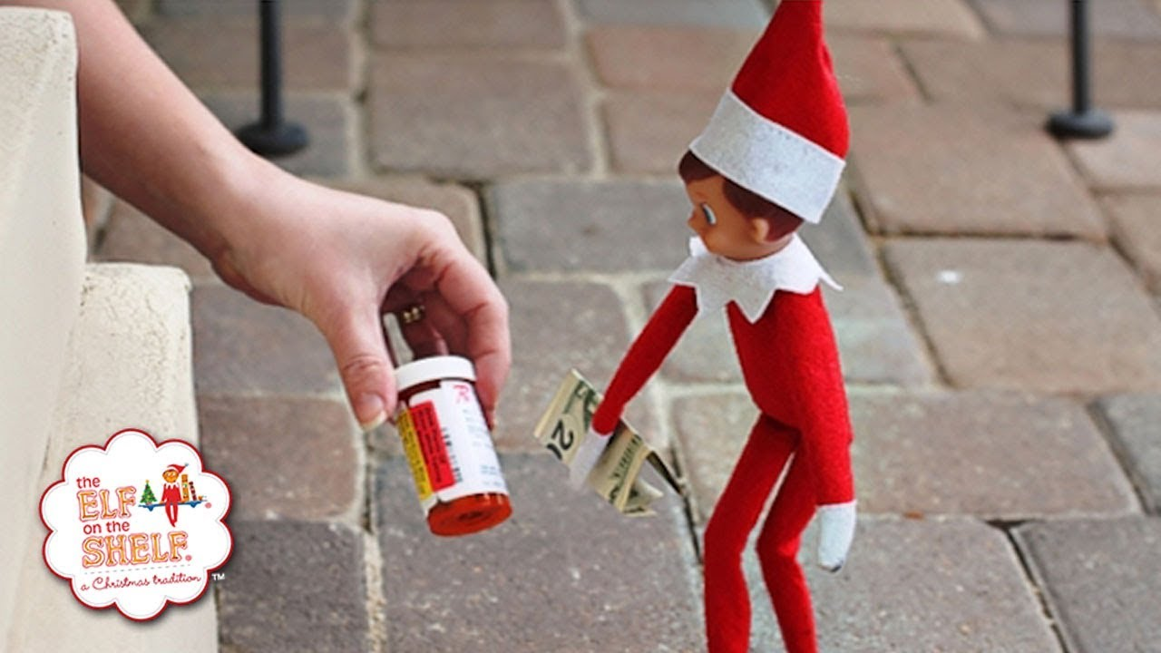 Worst Elf On The Shelf Ideas Ever! - YouTube