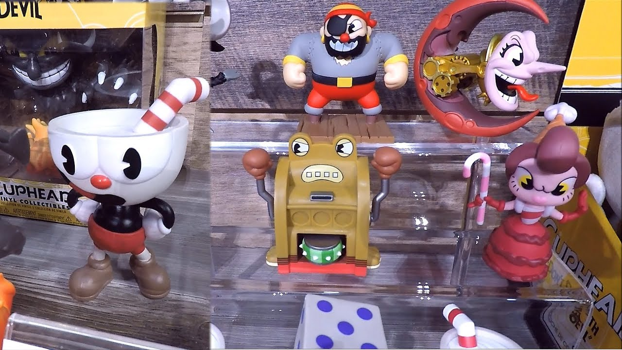 Cuphead Funko Pop Vinyl Figures At The 2018 New York Toy