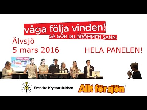 Paneldebatt - Våga följa vinden!