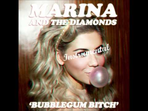 "MARINA AND THE DIAMONDS | ♡ ""BUBBLEGUM BITCH"" [Official Instrumental] ♡"