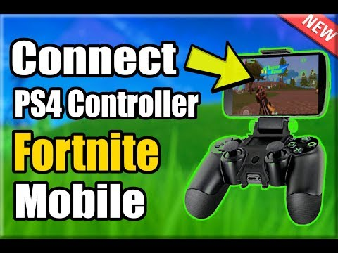 2 WAYS to Connect PS4 Controller to FORTNITE MOBILE! (100% NOT CHEATING) (Android Phone)