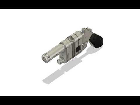 Starwars Cosplay - Rey Blaster Prop NN-14