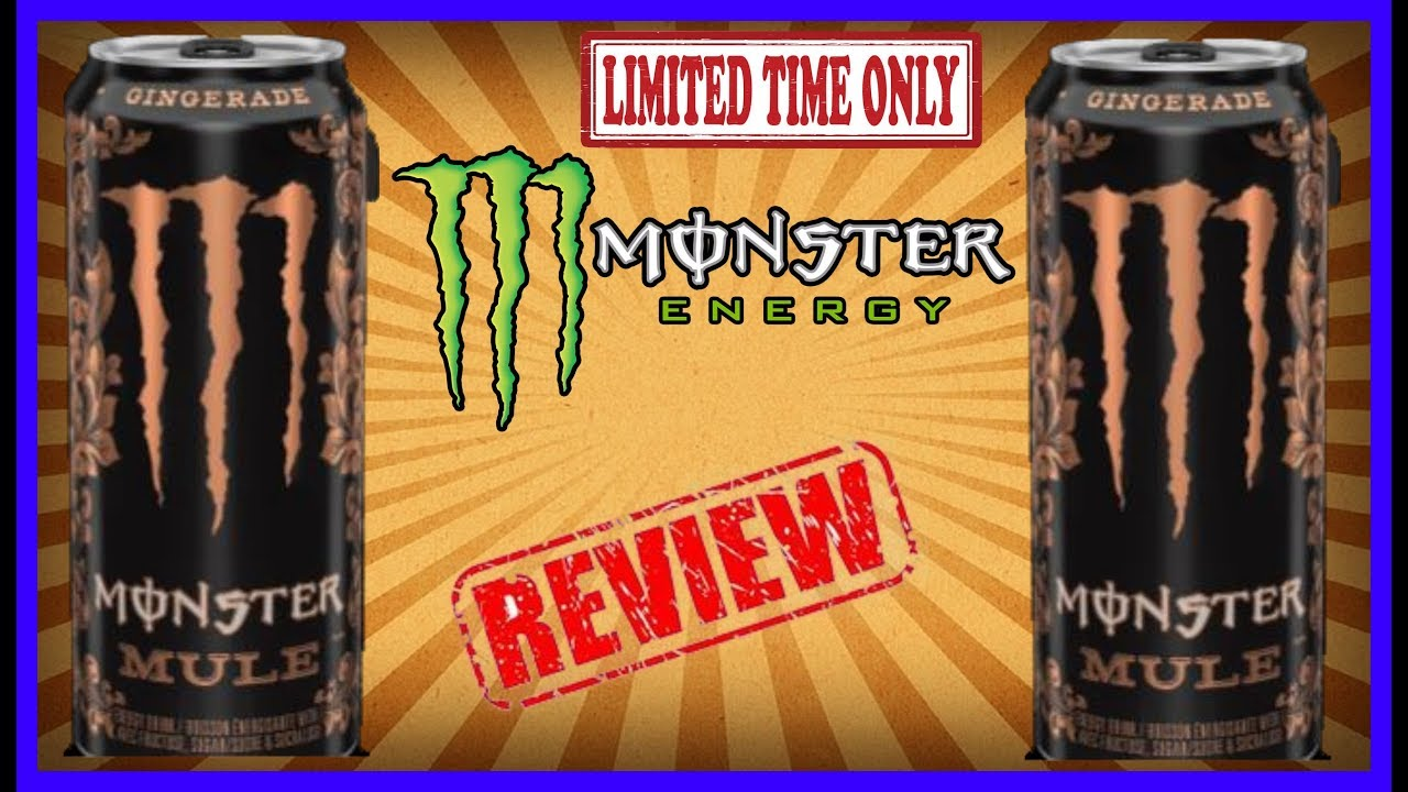 Limited Time Only Monster Mule Gingerade Drink Review August 15th 2019 Youtube The mule is considered to be a large animal for the purpose of determining its carrying capacity. limited time only monster mule gingerade drink review august 15th 2019