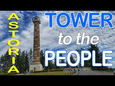 Astoria Oregon - Lewis & Clark Sites - Maritime Museum - Full Time RV Travel