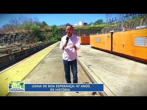 Usina de Boa Esperança em Guadalupe-PI. Reportagem da TV Antena 10