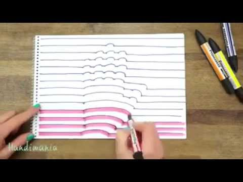Simpel je eigen hand in 3d tekenen youtube for Tekenen in 3d