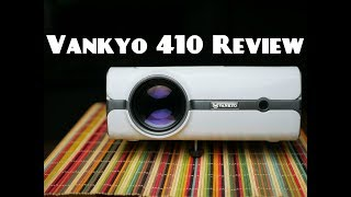 Vankyo Video projector review Leisure 410, Affordable home theater.
