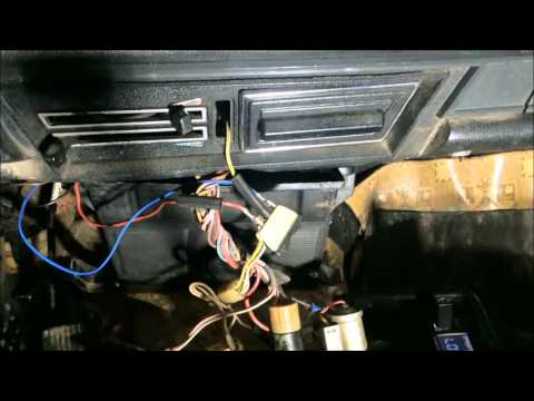Как я менял вентилятор печки ВАЗ 2106.