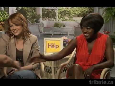 Emma Stone & Viola Davis - The Help Interview