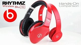 Beats by Dre Solo HD Drenched vs. Rhythmz Blu HD Hands-On Comparison