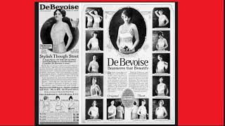 "In 1904 the Charles R. De Bevoise Company of New York first advertised its product as a ""brassiere."""