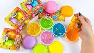 NUOVI MELMITO MACARONS CANDY! Con le caramelline dentro lo slime!