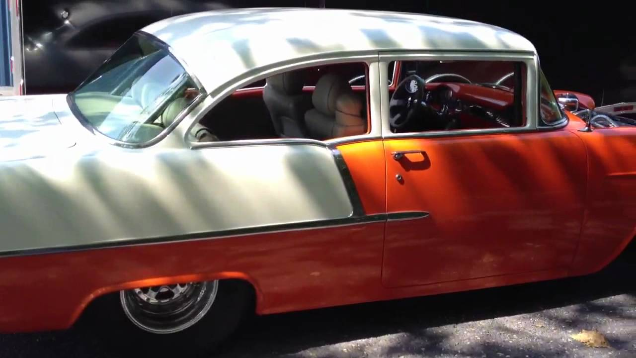 All Chevy 55 chevy for sale : Procharged, Pro Street 1955 Chevy! - YouTube