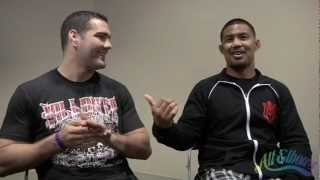 Mark Munoz & Chris Weidman talk about punching each other on July 11