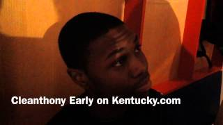 Cleanthony Early on validation