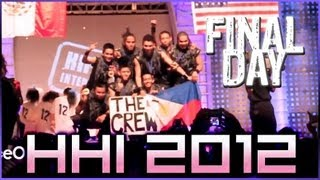 Hip Hop International 2012 Final Day Recap