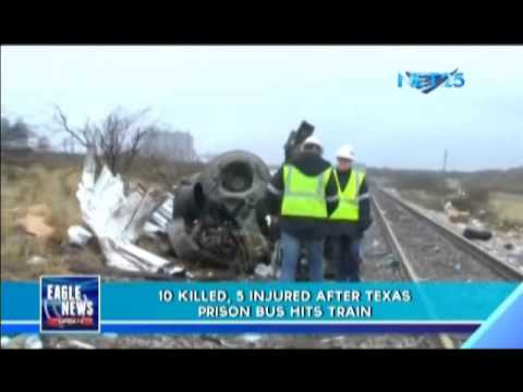 Prison bus accident in Texas kills ten