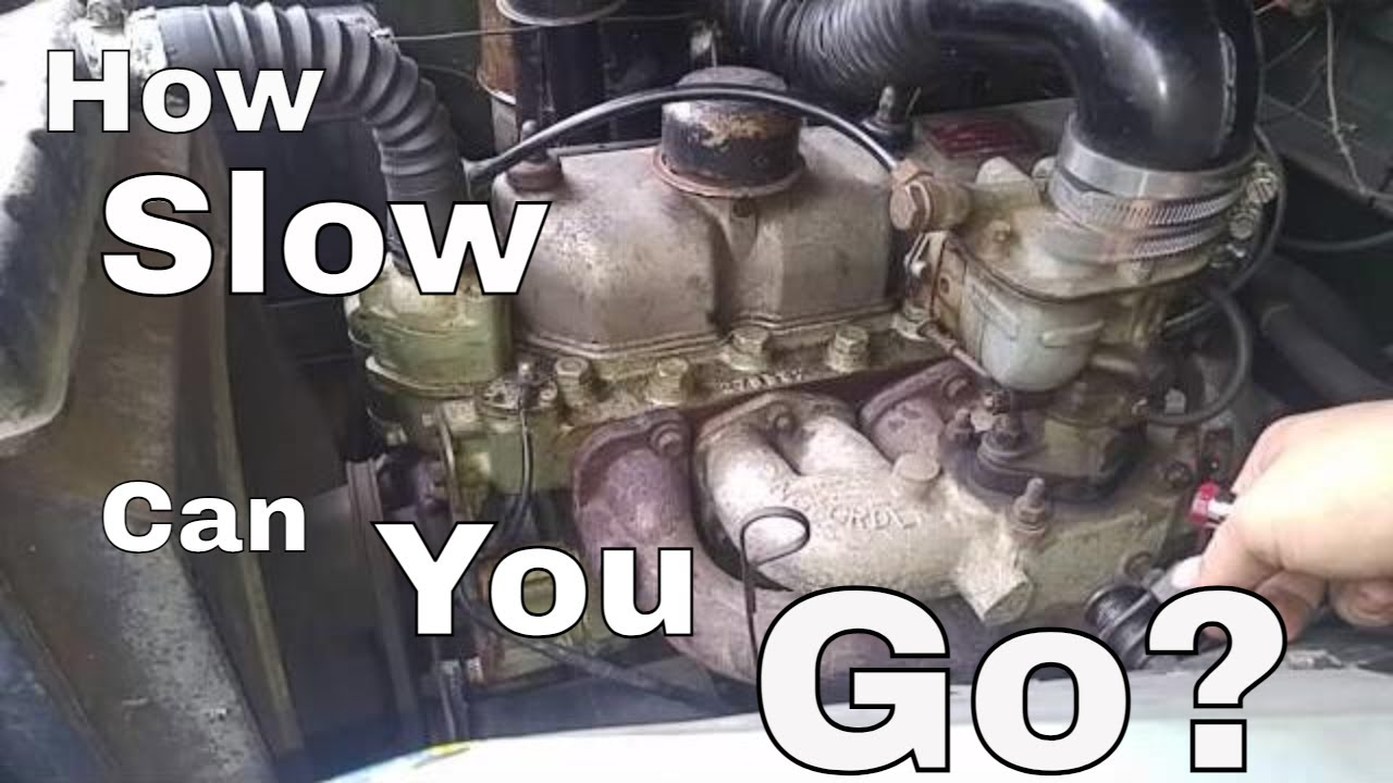 '61 Land Rover Series 2 - Short Vid - Solex Carburetor Adjustment and Super  Slow Idling