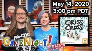 GameNight! LIVE - Criss Cross & the Parsley RPG!  May 14th, 2020 3:00pm PDT