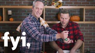 Tiny House Nation: Zack's Thanksgiving Leftovers Turkey-kale Salad | Fyi